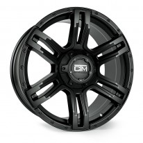 20 Inch Viking Black Wheel And Tyre Package