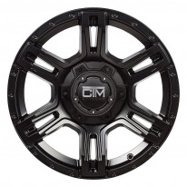 16 Inch Viking Satin Black Wheel and Tyre Package