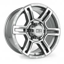 "CTM OFFROAD ""VIKING"" 16X7.5 GUNMETAL MACHINED"