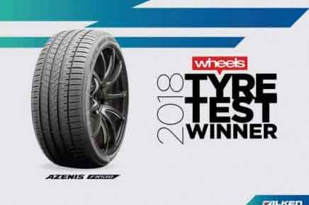 FALKEN WINS WHEELS TYRE TEST